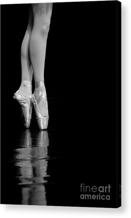 Pointe Acrylic Print featuring the photograph En Pointe by Jeannie Burleson