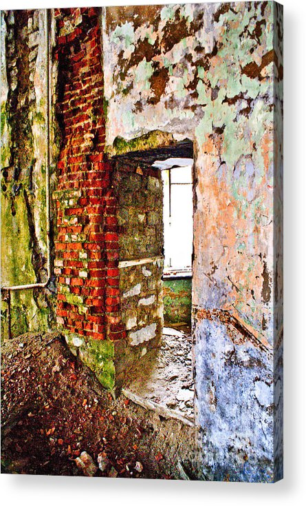 Wall Acrylic Print featuring the photograph It Is More Than Color Than Usually by Vadim Grabbe