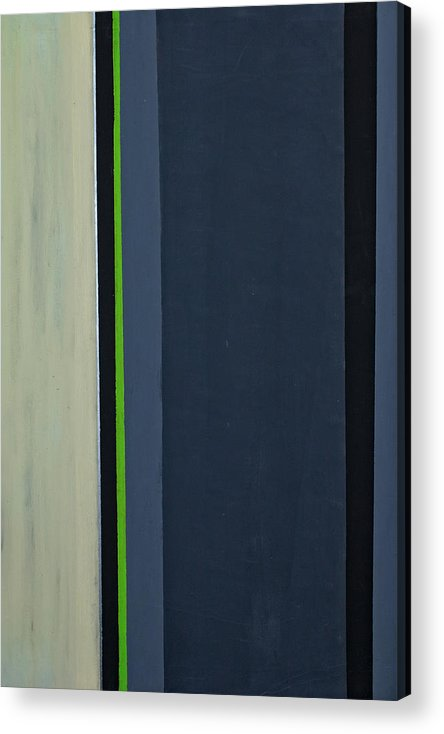 Geometric Acrylic Print featuring the painting Modern Stripe 1 by Slade Roberts