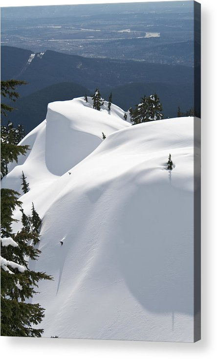 Snow Acrylic Print featuring the photograph Mount Seymour by Scott Merriman