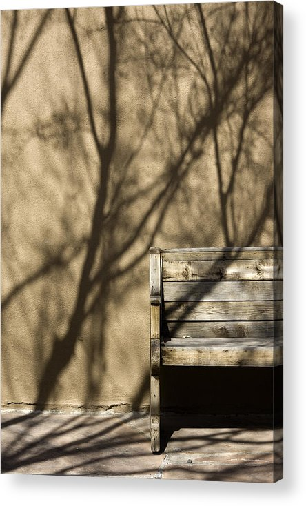 Photo Acrylic Print featuring the photograph Old Bench by Carmo Correia