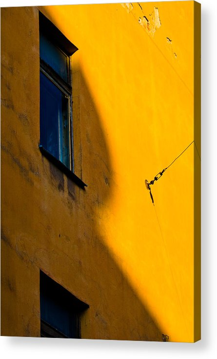 Wall Acrylic Print featuring the photograph R by Vadim Grabbe