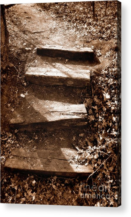 Step Acrylic Print featuring the photograph Untitled by Jeannie Burleson