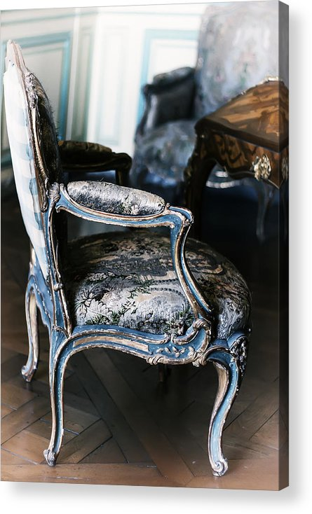 Versailles Acrylic Print featuring the photograph Very Elegant - Very Marie Antoinette by Georgia Fowler