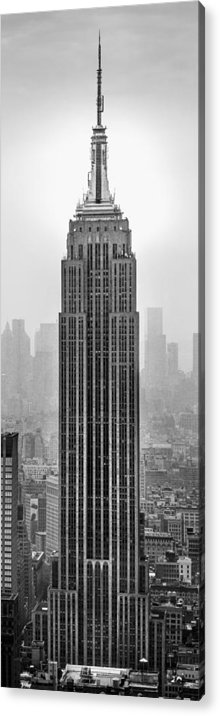 Empire State Building Acrylic Print featuring the photograph Pride Of An Empire by Az Jackson