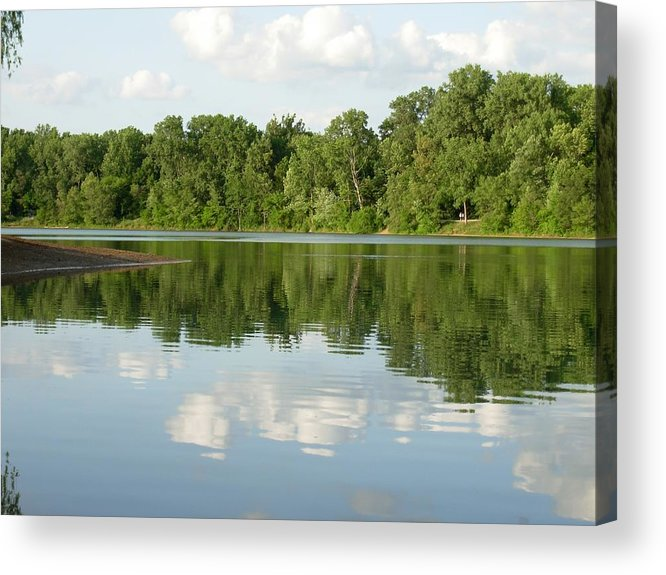 Lake Acrylic Print featuring the photograph 1273c by Kimberlie Gerner