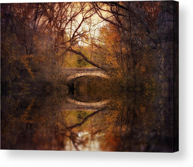 Autumn Acrylic Print featuring the photograph Autumn's End by Jessica Jenney