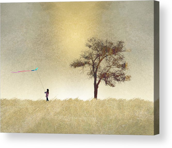 Girl Acrylic Print featuring the photograph 2687 by Peter Holme III