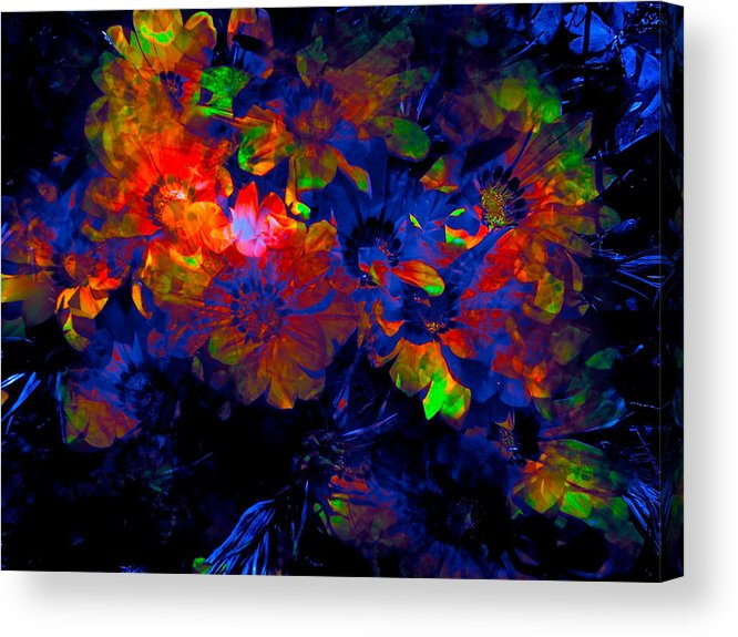 Abstract Acrylic Print featuring the photograph Abstract 129 by Pamela Cooper
