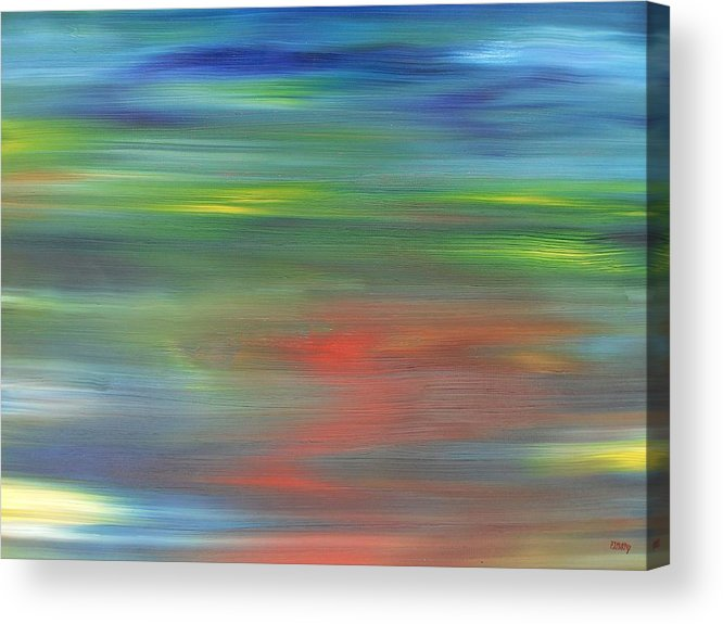 Abstract Acrylic Print featuring the painting Abstract 421 by Patrick J Murphy