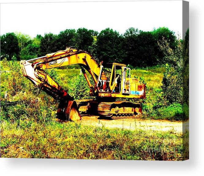 Dozer Acrylic Print featuring the photograph All Ready For Duty IIi by Kip DeVore