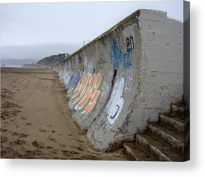 Graffiti Acrylic Print featuring the photograph Archaeological Conundrum by Donna Blackhall