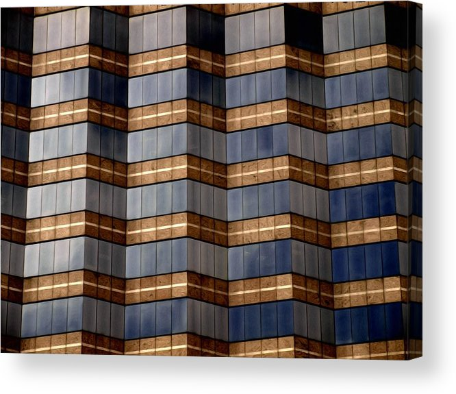 Abstract Acrylic Print featuring the photograph Architecture 2 by Tom Druin