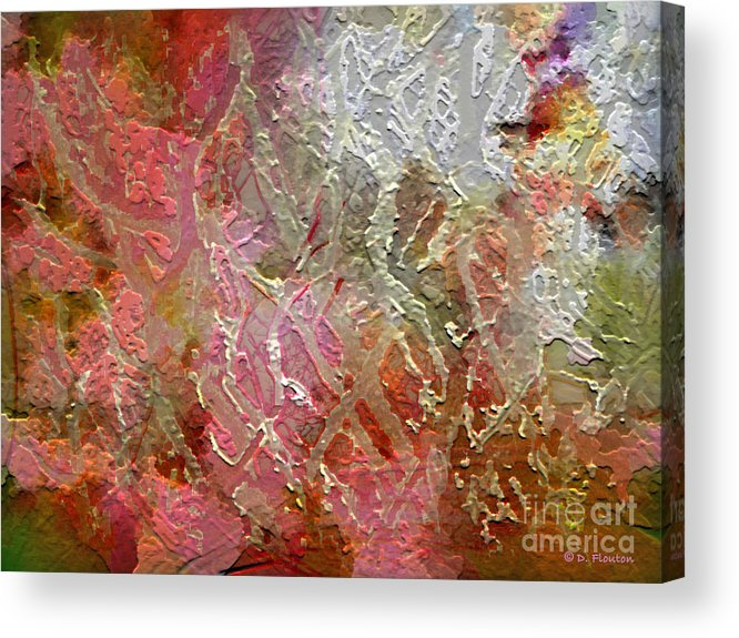 Autumn Acrylic Print featuring the photograph Autumn Hues by Dee Flouton