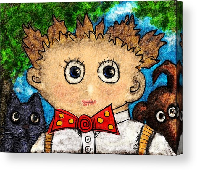 Humor Acrylic Print featuring the photograph Back To School by Mary Eichert