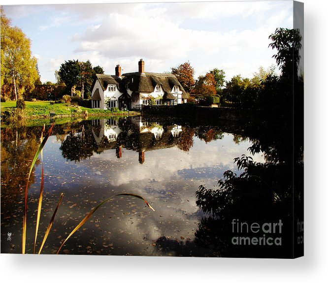 England Acrylic Print featuring the photograph Badger House by Neil Finnemore