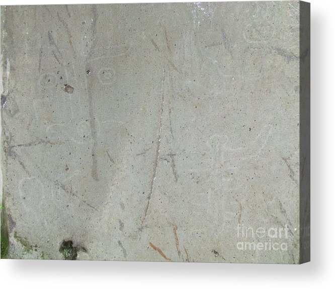 Panama Acrylic Print featuring the photograph Bariiiles Carving Stone by Ted Pollard