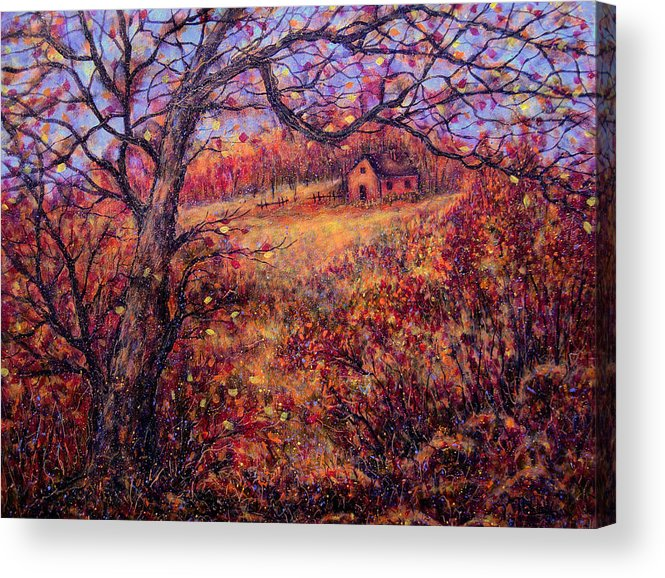 Autumn Acrylic Print featuring the painting Beautiful Autumn by Natalie Holland