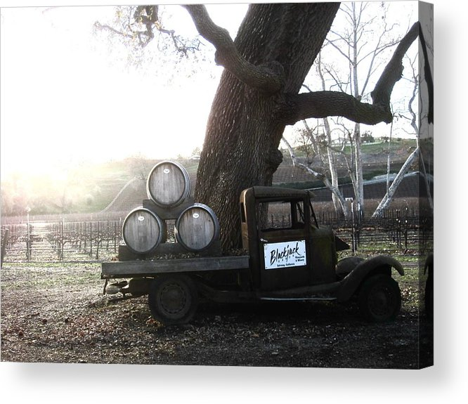 Winery Acrylic Print featuring the photograph Bygone Era by Paul Foutz