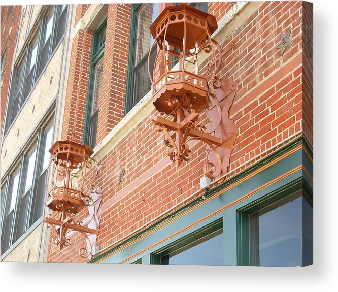 Lighting Acrylic Print featuring the photograph Classic Lighting by Janet Davis