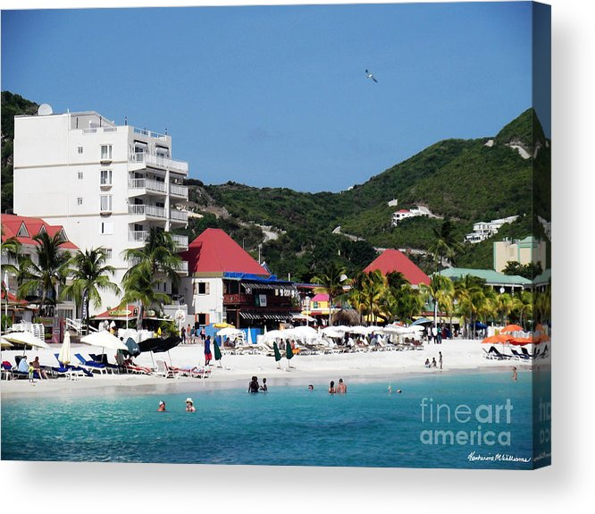 Clear Acrylic Print featuring the photograph Clear Blue by Katherine Williams