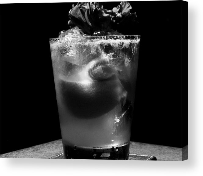 Drinks Acrylic Print featuring the photograph Drink After Dark by Lyle Barker