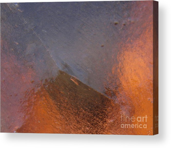 Orange Acrylic Print featuring the photograph Eruption by Fred Sheridan