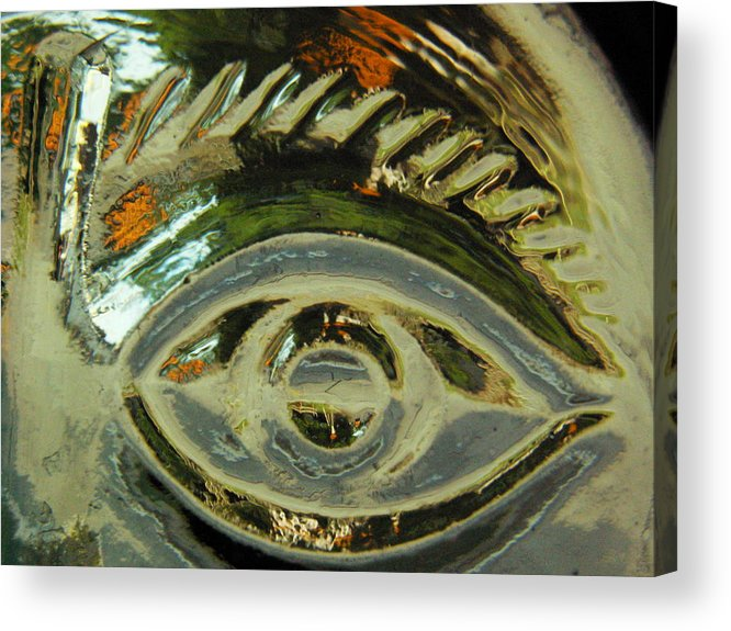 Captivus Brevis Acrylic Print featuring the photograph ...eye See... by Charles Struse Sr