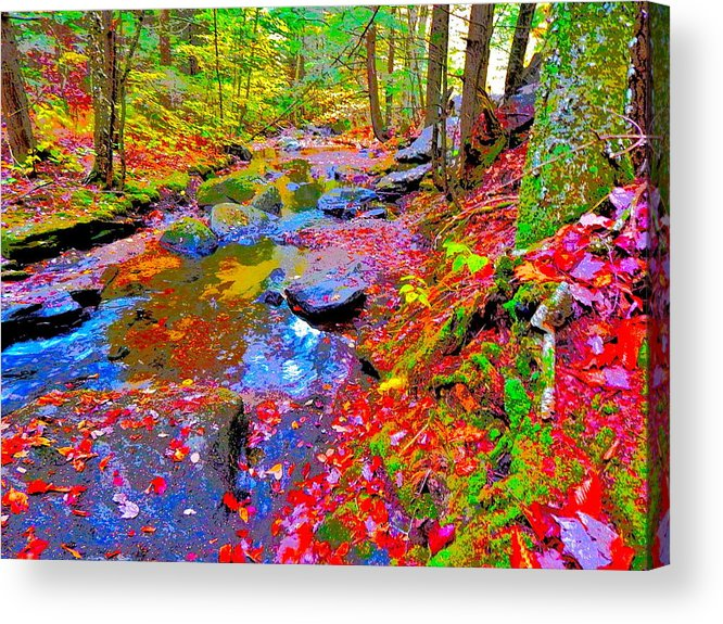 Landscape Acrylic Print featuring the photograph Fall 2014 Y219 by George Ramos