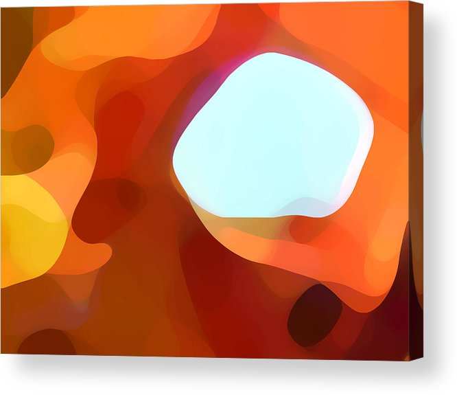 Abstract Acrylic Print featuring the painting Fall Passage by Amy Vangsgard