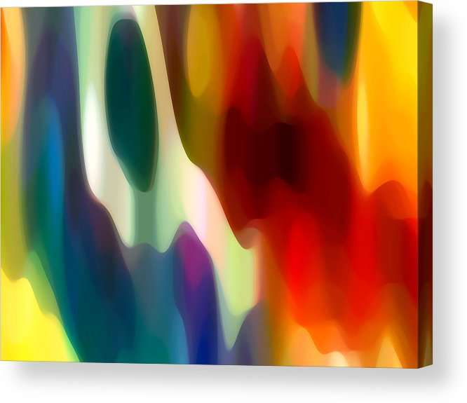 Fury Acrylic Print featuring the painting Fury 2 by Amy Vangsgard