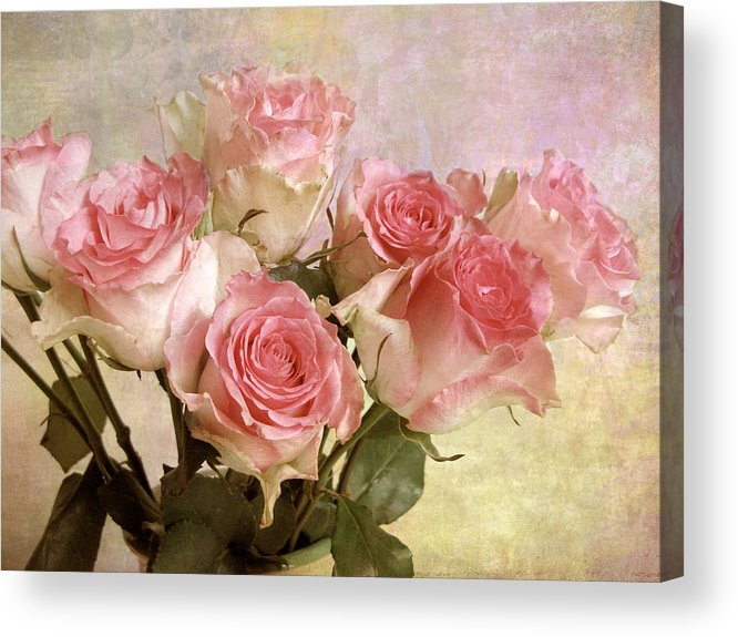 Flowers Acrylic Print featuring the photograph Gently by Jessica Jenney