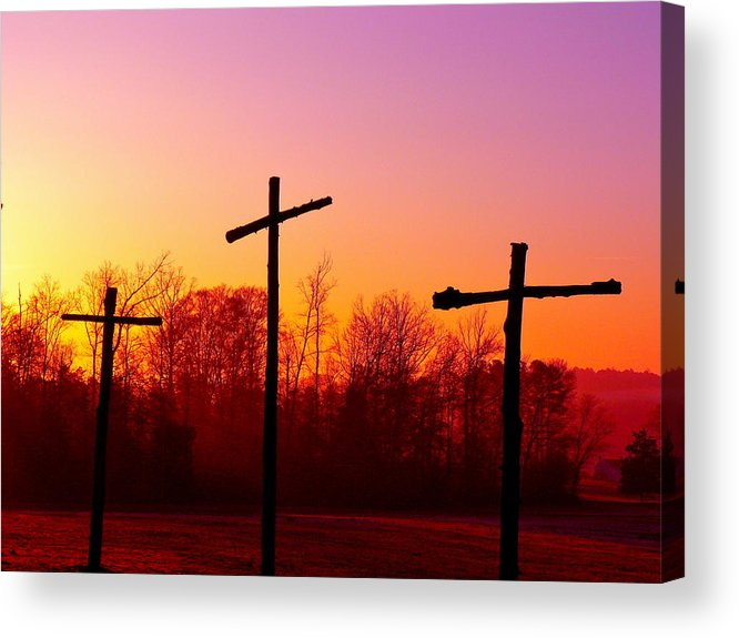 Cross Acrylic Print featuring the photograph Good Friday by Jean Wright
