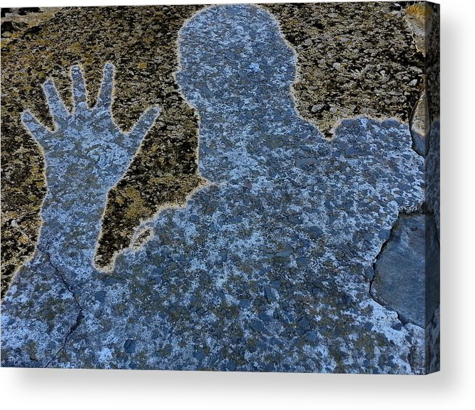 Reflection Acrylic Print featuring the photograph Hello by Robbie Pickard