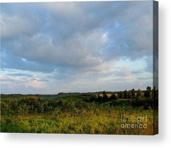 Valley Acrylic Print featuring the photograph High Valley View 1 Of2 by Scott B Bennett