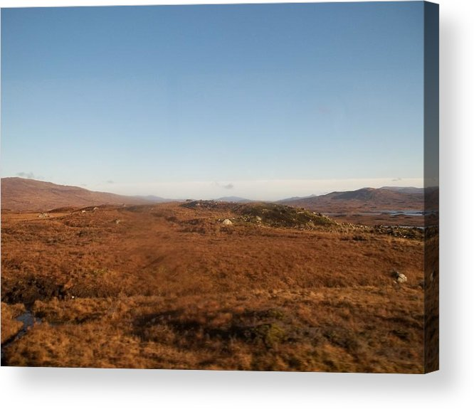 Scotland Acrylic Print featuring the photograph Highland Countryside by James Potts