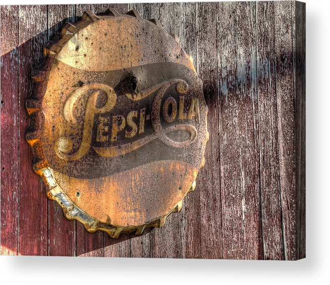 Hits The Spot Acrylic Print featuring the photograph Hits The Spot by William Fields