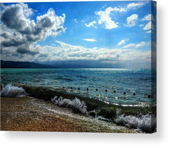 Jamaica Acrylic Print featuring the photograph Jamaica - Montego Bay 004 by Lance Vaughn