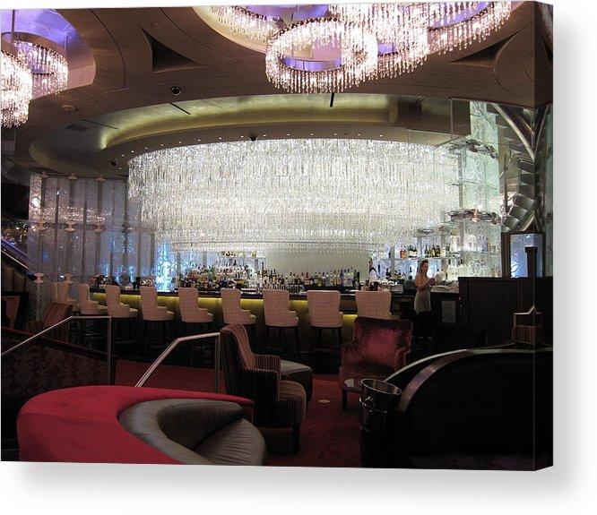 Las Acrylic Print featuring the photograph Las Vegas - Cosmopolitan Casino - 12123 by DC Photographer