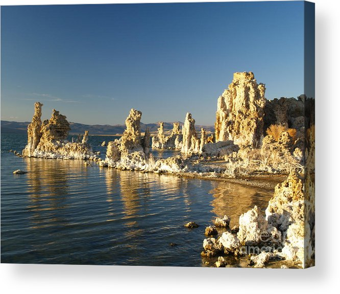 Landscape Acrylic Print featuring the photograph Mono Lake California by Alex Cassels