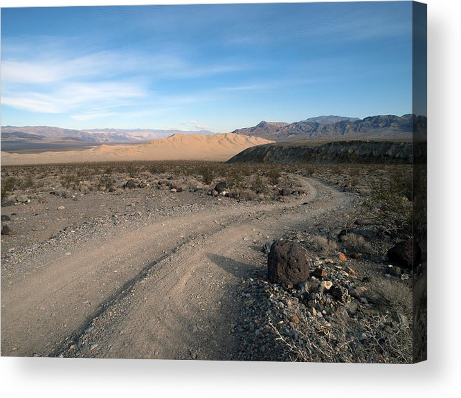 Death Valley Acrylic Print featuring the photograph Morning On Steele Pass by Joe Schofield
