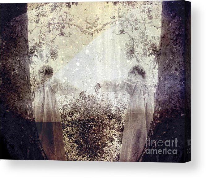 Fantasy Acrylic Print featuring the photograph Never Grow Up by Ellen Cotton