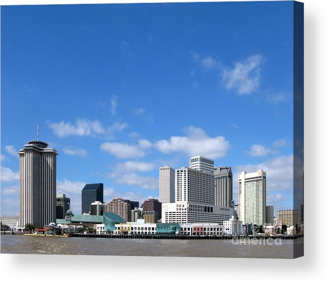 New Acrylic Print featuring the photograph New Orleans Louisiana by Olivier Le Queinec