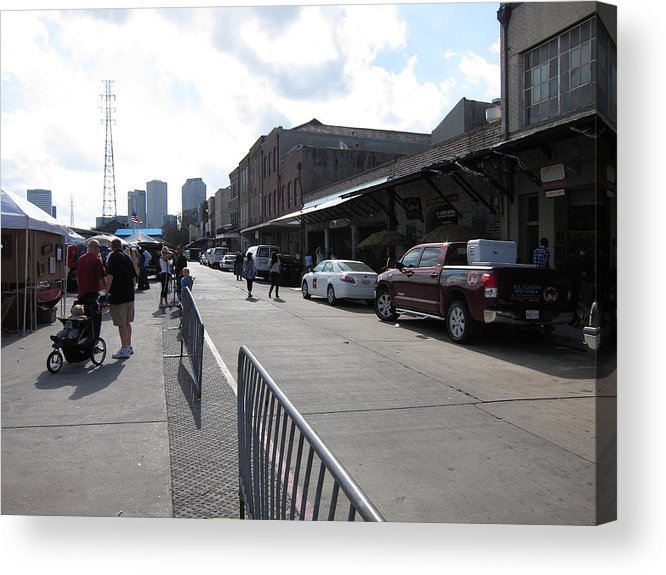 New Acrylic Print featuring the photograph New Orleans - Seen On The Streets - 121213 by DC Photographer