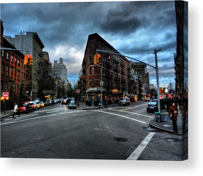 New York City Acrylic Print featuring the photograph New York City - Greenwich Village 012 by Lance Vaughn