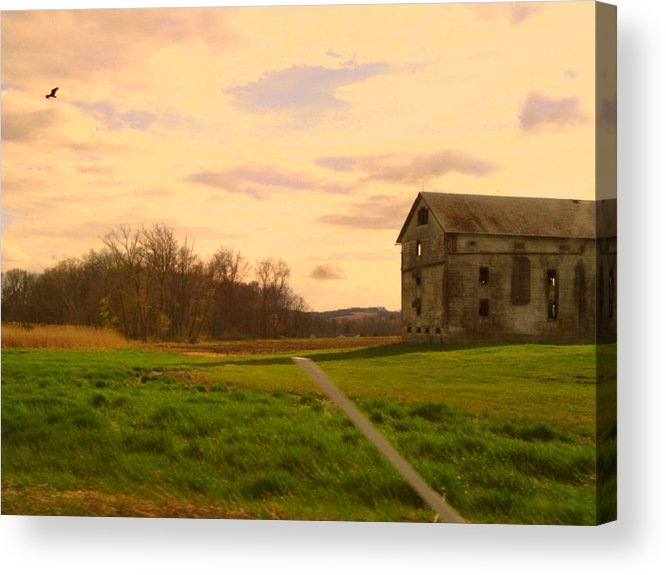 Barn Acrylic Print featuring the photograph Old Pa by Jessica Murphy