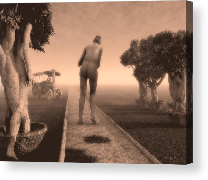 Life Acrylic Print featuring the photograph Path In Life by Bob Orsillo