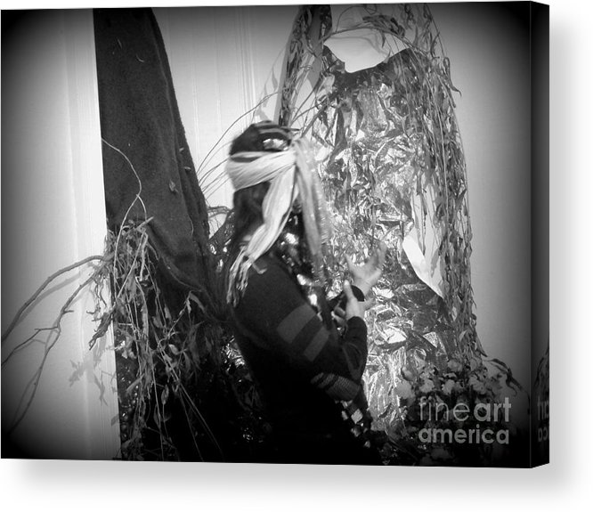 Acrylic Print featuring the photograph Refections Of Reality by Oberon  Ahura Star