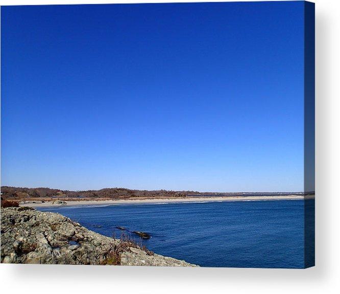 Sachusett Beach Acrylic Print featuring the photograph Sachusett Beach 4 by Robert Nickologianis