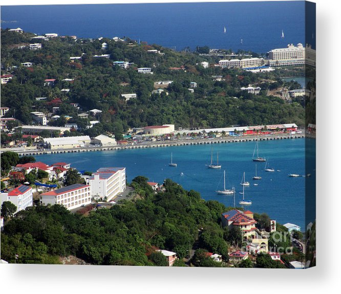 Saint Acrylic Print featuring the photograph Saint Thomas by Katherine Williams